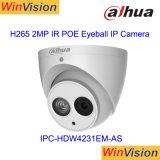 Macchina fotografica piena Ipc-Hdw4231em-Ase di Dahua 2MP 1080P HD della macchina fotografica del IP di video