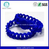 Wristbands su ordinazione del silicone di stampa Lf/Hf/UHF di marchio
