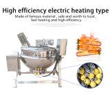 Тип чайник еды нагрева электрическим током Jacketed с делая эмульсию головкой