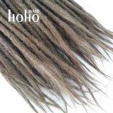 Pollice cinese Dreadlocks del Brown 20 dei capelli umani di Non-Remy