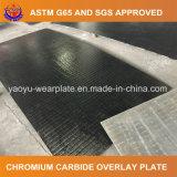 De Carburo de Cromo Hardfacing la placa de desgaste para el separador ciclón