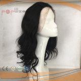 Peruca natural das mulheres da cor do cabelo do Virgin do laço (PPG-l-0711)