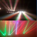 8X10W RGBW 4en1 LED RVB de faisceau Spider tête mobile