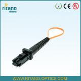 Sm Simplex 9/125 de 0,9 mm cinta de fibra óptica Mu Pigtails