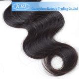 Prolonge de cheveux humains de Vierge d'Indien de Kbl 100%