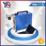 Gravador do laser da fibra para etiquetas dos Tag