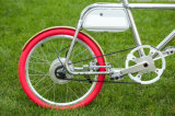 elektrisches Fahrrad des Aluminiumrahmen-20-Inch mit abnehmbarer Batterie