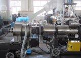 PP de residuos de plástico bolsas de tejido de granulación, con el compactador Cutter