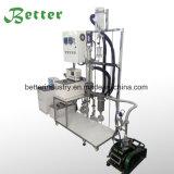 Sistema di distillazione del percorso di scarsità per l'olio di canapa