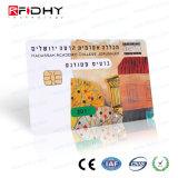 A impressão de duas faces em contato com cartão de RFID com MIFARE (R) 4K