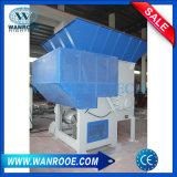 Único Eje Pnds palet de madera de barril de plástico grande de la máquina trituradora de papel