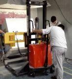 Vacío que maneja la capacidad 300kg de la carretilla para el crisol