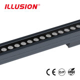 세륨을%s 가진 IP 67의 DC24V 96W RGBW LED 벽 세탁기 빛