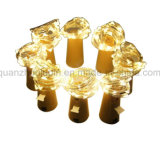 OEM 최신 판매 장식적인 다채로운 LED 병 마개