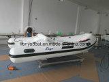 Liya 12.5FT kleines steifes Rumpf-Fiberglas-Fischen-Rippen-Boot