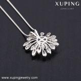 43808 Shinny bellos cristales de Swarovski Colgante Collar de flores joyas para mujer