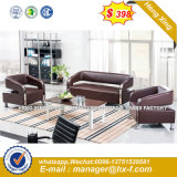 Nuevo diseño de muebles de salón moderno sofá de cuero (UL-CSN085)