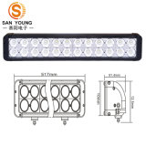 Light Bar LED Spot Flood Combo Beam 240W Duoble Row 10W Crees Chips Light Bar Offroad LED