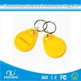 13.56MHz Ntag216 ABS NFC Nähe wenn RFID Schlüsselkette/Fob/Marke