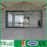 Spätestes Entwurf preiswertes Metel Doppelverglasung-Aluminium-schiebendes Fenster