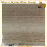 나무로 되는 회색 Polished 대리석 석판, 도와, 지면, 돌 (YY-MS197)