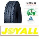 12.00r20 11.00r20 Joyall 상표 광선 강철 트럭 및 버스 타이어