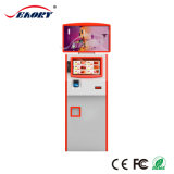 ATM 기계 또는 Lastest 디자인 열 인쇄 기계를 가진 이중 스크린 간이 건축물