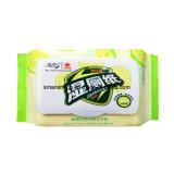 Las toallitas húmedas de baño Wc Flushable toallitas antibacterial