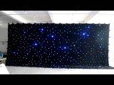 Горячая продажа LED Star шторки /Индикатор фон для свадьбы оформление
