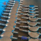 Valvola a farfalla sanitaria dell'acciaio inossidabile di alta qualità