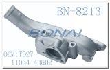 Motor-Ersatzteil-Wasser-Anschluss-Anschluss für Isuzu Td27 (11061-43G02) Aluminiumgußteil