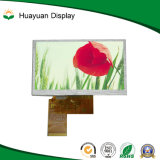 5 módulo da tela larga 800*480 TFT LCD da polegada