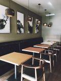 Hölzerne Stuhl-und Tisch-Gaststätte-Verkaufsmöbel, die Möbel-Set speisen