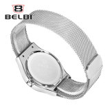 Jour/Date d'affaires Belbi confortables Milan montre-bracelet quartz watch Band Hommes