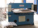Máquina cortando hidráulica manual da sapata de couro