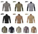 12의 색깔 군사 훈련 셔츠 상단을 사냥해 전술상 돌격 OEM