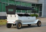 Passeios Turísticos certificado CE Retro Vintage Eléctrico Automóvel de passageiros