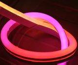 디지털 화소 통제의 무작위 구부릴 수 있는 LED 네온 코드