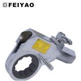 Herramienta hidráulica hueco ajustable eléctrica de la llave inglesa de torque