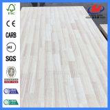 El tamaño de la puerta de madera de pino importado de la Junta de dedo de goma