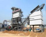 China planta de mistura quente do asfalto da mistura de 120 T/H com tipo silo da folha