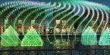 ステンレス鋼3Dの効果はデジタル音楽ダンスの噴水を振る