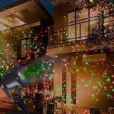 Rote u. grüne Laser-Weihnachtslichter für im Freien imprägniern