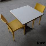Mesa redonda de superfície contínua de tabela de jantar de Kkr