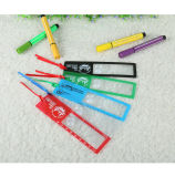 6X Promotional Bookmark PVC Fresnel Magnifier Premium Gift (HW-802A), Customized Logo
