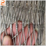 Фитинг с обжимным кольцом или трос из нержавеющей стали Knotted зоопарк веревки сетки