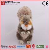 Jouet mou animal d'écureuil de peluche bourré par ASTM pour des gosses de bébé