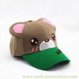 Бейсбольная кепка шлема бейсбола медведя Embriodery малышей изготовления Китая
