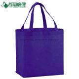 昇進の環境に優しいカスタムNon-Woven食料雑貨入れの袋の買物客の戦闘状況表示板