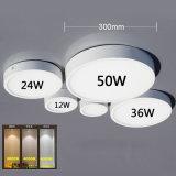 12W-50W高い明るさ円形LED SMDの天井板